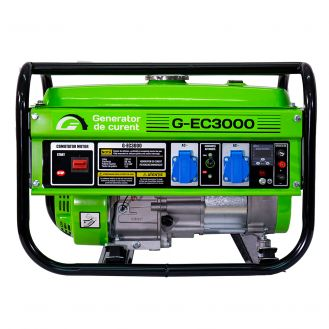 Generator de curent pe benzina Greenfield G-EC3000_C, portabil, monofazat, 2.2 kVA