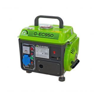 Generator de curent pe benzina Greenfield G-EC950, motor 2 timpi, portabil, monofazat, 0.75 kVA