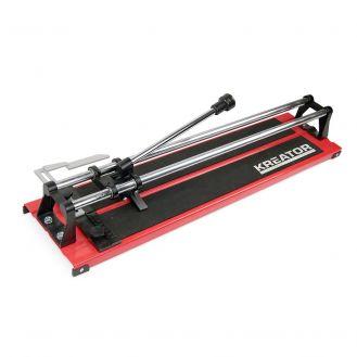 Masina manuala de taiat gresie si faianta Kreator KRT001003, lungime taiere 600 mm, grosime de taiere 0 - 10 mm