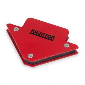 Suport magnetic pentru pozitionarea pieselor de sudat Kreator KRT552304, 45/90/135 grade