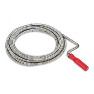 Cablu sarpe pentru desfundat tevi Kreator KRT563001, 3 m