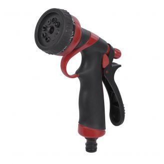 Pistol pentru stropit din plastic Kreator KRTGR6112, cu jet reglabil in 8 pozitii