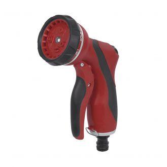Pistol pentru stropit din plastic Kreator KRTGR6122, cu jet reglabil in 7 pozitii