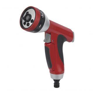Pistol pentru stropit din plastic/aluminiu Kreator KRTGR6132, cu jet reglabil in 7 pozitii