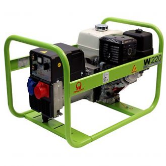 Generator portabil de curent si sudura Pramac W220, trifazat, 6.1 kVA, curent sudura 40-220 A