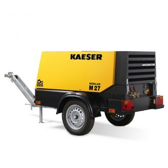 Motocompresor portabil Kaeser M27-7 FF, diesel, 7 bar, 2.6 mc/min