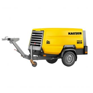 Motocompresor portabil Kaeser M59PE_14BAR, diesel, 7 bar - 4.7 mc/min, 14 bar - 3.8 mc/min