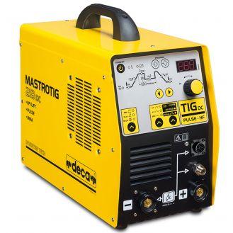 Aparat sudura TIG/ MMA Deca MASTROTIG218DC, 200 A, electrozi 1.6-4  mm, cu accesorii TIG