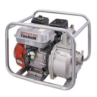 """Motopompa 2"""" Technik MPT23-30_EUROV, motor euro V, benzina, putere 7.5 CP, debit 30000 l/h, inaltime refulare 23 m"""