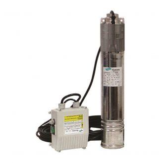 Pompa submersibila din inox Sumoto, ONKM150, pentru ape curate, putere 1.1 kW, debit max. 45 l/min, inaltime refulare maxima 105 m