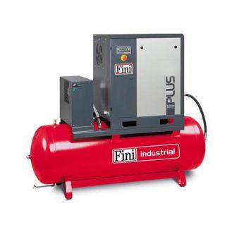 Compresor de aer cu surub Fini PLUS 8-10-500ES, 400 V, 500 l, 7.5 kW, 10 bar, 1000 l/min, cu uscator