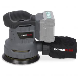 Masina de slefuit alternativ Powerplus POWCEB4010, compatibila cu acumulatori 18V Li-Ion, 125 mm