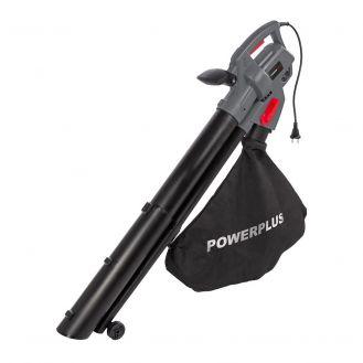 Suflanta/aspirator electric pentru gradina Powerplus POWEG9013, 3300 W, cu tocator