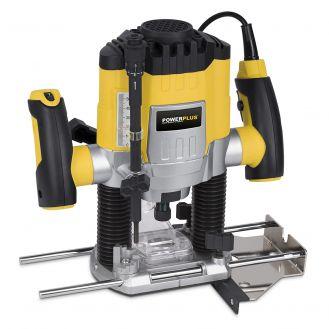 Masina de frezat verticala Powerplus POWX0910, 1200 W, adancime de lucru pana la 35 mm