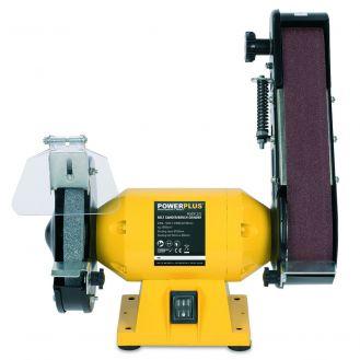 Polizor de banc combinat Powerplus POWX1270, 240 W, 2950 rpm