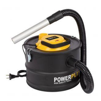 Aspirator pentru cenusa Powerplus POWX3000, 1000 W, 15 l, recipient metal
