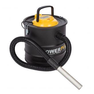 Aspirator pentru cenusa Powerplus POWX3010, 1200 W, 20 l, recipient metal