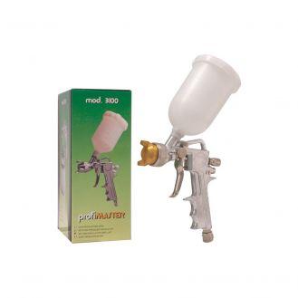Pistol profesional de vopsit cu cupa sus  OMG PROFIMASTER3100_1.5, 0.5 kg, duza 1.5 mm