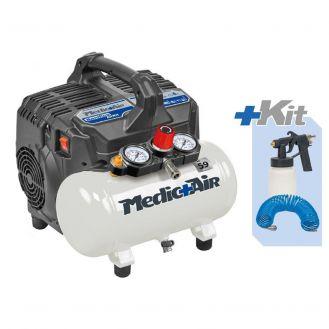 Compresor de aer + kit nebulizare dezinfectanti Fini SANIFICO AIRKIT, 6 l, 750 W, 8 bar, 105 l/min