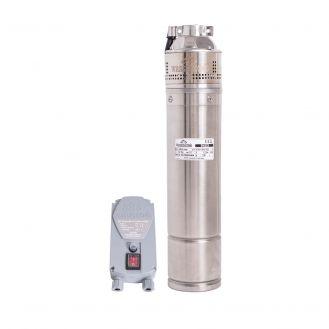 "Pompa submersibila periferica Wasserkonig SI6253, diametru 4"", putere 1200 W, debit 3180 l/h, inaltime refulare 62 m"