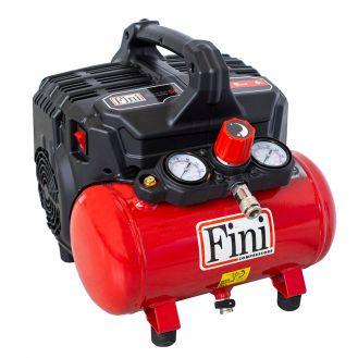 Compresor de aer ultra silentios, fara ulei, Fini SILTEK S/6, 6 l, 750 W, 8 bar, 105 l/min