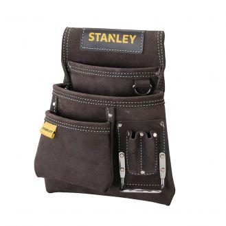 Suport din piele pentru cuie si ciocan Stanley STST1-80114, 280 x 90 x 250 mm