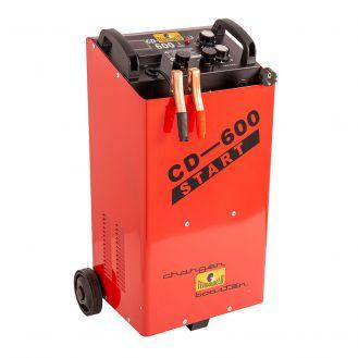 Redresor si robot de pornire Tehnoweld TEHNOWELDCD600, tensiune incarcare 12/24 V, capacitate baterii capacitate baterii Pb 20-1000 Ah