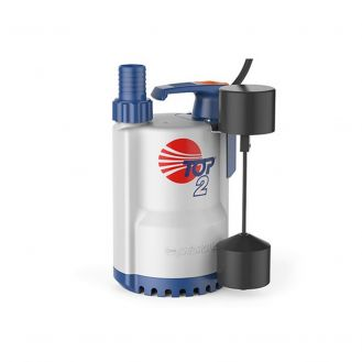 Electropompa submersibila de drenaj pentru ape curate Pedrollo TOP3 - GM, particule max. 10 mm, putere 0.55 kW, debit max. 260 l/min la H=2 m, inaltime refulare maxima 10 m