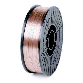 Bobina sarma otel cuprat pentru sudura Mig-Mag Lincoln Electric ULTRAMAG_1.0X5SG2*, diametru 1 mm, greutate 5 kg, pentru oteluri de uz general nealiate