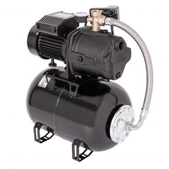 Hidrofor cu pompa autoamorsanta Wasserkonig WSK4950-25, fonta, putere 1200 W, debit 4860 l/h, inaltime refulare 50 m, vas de expansiune 24 litri