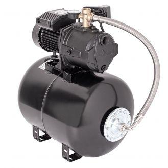 Hidrofor cu pompa autoamorsanta Wasserkonig WSK4950-50, corp fonta, putere 1200 W, debit 4860 l/h, inaltime refulare 50 m, vas de expansiune 50 litri