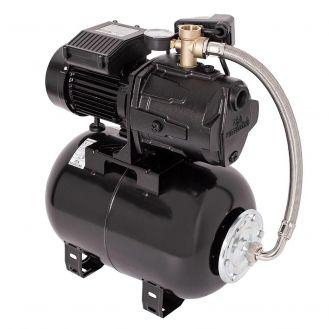 Hidrofor cu pompa autoamorsanta Wasserkonig WSK5357-25, fonta, putere 1400 W, debit 5280 l/h, inaltime refulare 57 m, vas de expansiune 24 litri