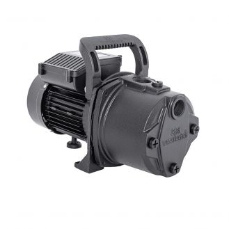 Pompa autoamorsanta de gradina Wasserkonig WSKG3346, fonta, putere 900 W, debit 3300 l/h, inaltime refulare 46 m