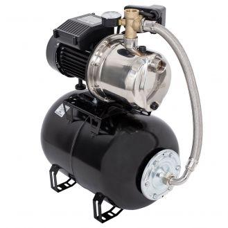 Hidrofor cu pompa autoamorsanta Wasserkonig WSKX4048-25, putere 1000 W, 9 m, inox debit 4020 l/h, inaltime refulare 48 m, vas de expansiune 24 litri