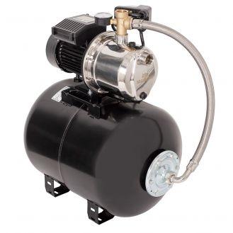 Hidrofor cu pompa autoamorsanta Wasserkonig WSKX4048-50, putere 1000 W, 9 m, inox debit 4020 l/h, inaltime refulare 48 m, vas de expansiune 50 litri