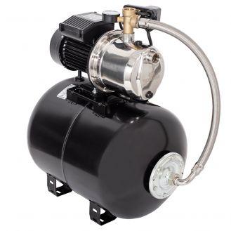 Hidrofor cu pompa autoamorsanta Wasserkonig WSKX5153-50, inox, putere 1200 W, 9 m, debit 5100 l/h, inaltime refulare 53 m, vas de expansiune 50 litri