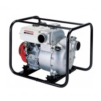 "Motopompa 3"" autoamorsanta cu cadru de transport, pentru ape murdare Honda WT30XK4, motor benzina Honda Stage V, debit 1200 l/min, Hmax 25mca"