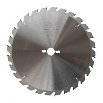 Disc Zonetec ZA2243035028 pentru fierastrau circular, D 30X300 mm, 28 dinti, taieri universale