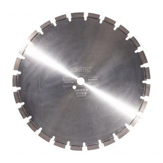 Disc diamantat Zonetec ZA241SA450132525, pentru asfalt, taiere segmentata, 450x25.4x13 mm