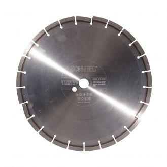 Disc diamantat Zonetec ZA241SBP35092525, pentru beton proaspat < 48 ore, taiere segmentata, 350x25.4x9 mm