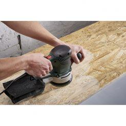 Set 2 foi abrazive Wolfcraft 8169000, prindere velcro, pentru lemn si inox, D 125 mm