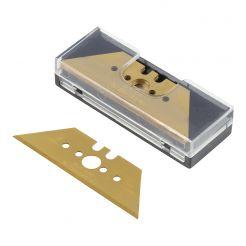 Set 5 lame trapezoidale Wolfcraft 4173000, profi inaltime lama 61 mm, grosime lama 0, 65 mm