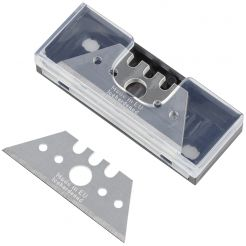 Set 5 lame trapezoidale Wolfcraft 4186000, profi inaltime 52 mm, grosime lama 0, 65 mm