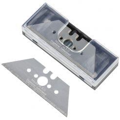 Set 10 lame trapezoidale Wolfcraft 4187000, inaltime 61 mm grosime lama 0, 65 mm