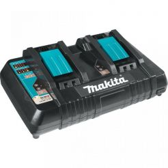 Incarcator rapid dublu Makita DC18RD, 630868-6, Li-Ion LXT 14.4-18 V