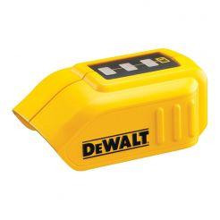 Adaptor acumulator Dewalt DCB090, cu conexiuni USB